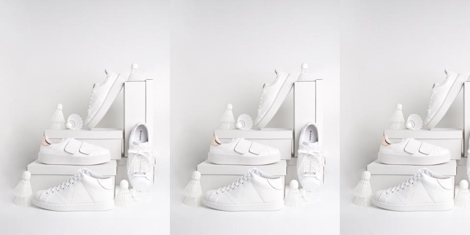 Blanco sobre blanco: las Victoria más impolutas