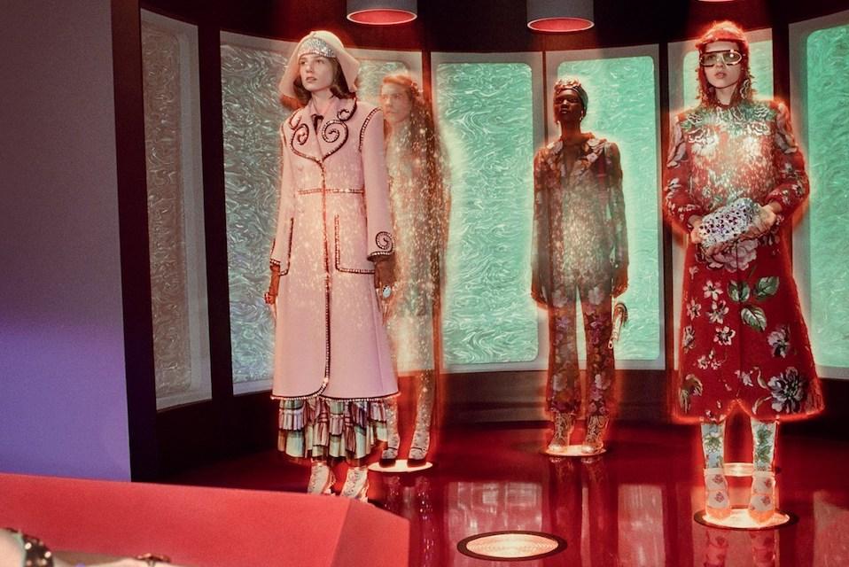 Escenas al más estilo Sci-fi para la nueva colección de Gucci