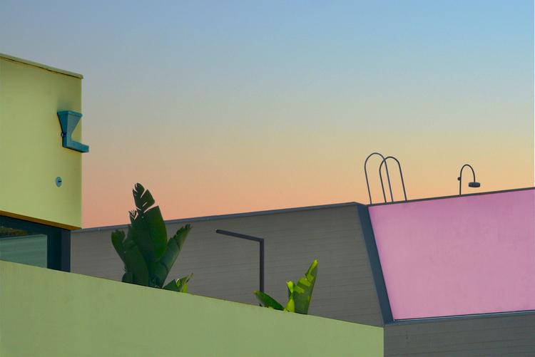 Carreteras perdidas y coloridas de Hayley Eichenbaum
