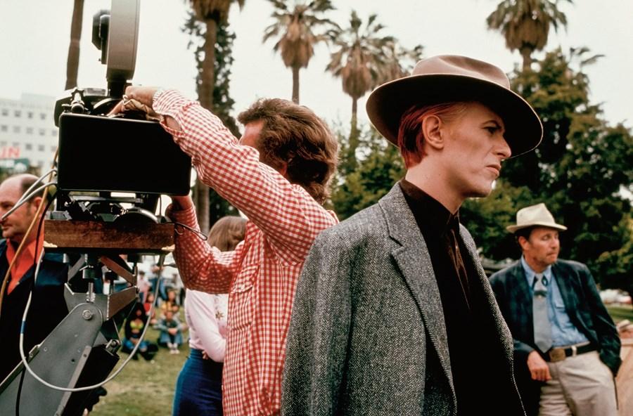 Fotos inéditas de David Bowie rodando The man who fell to Earth