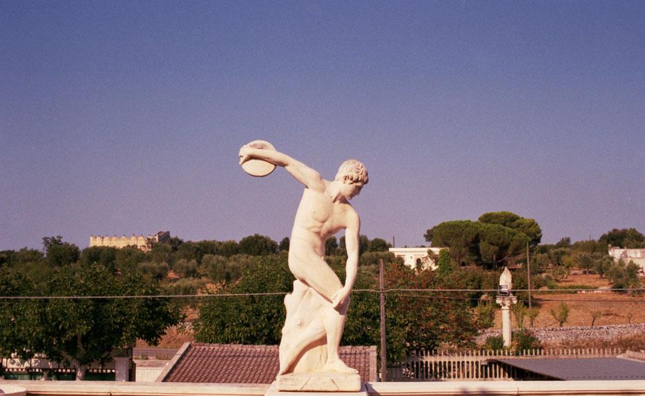 Italia, el verano, las estatuas y Stefan Giftthaler
