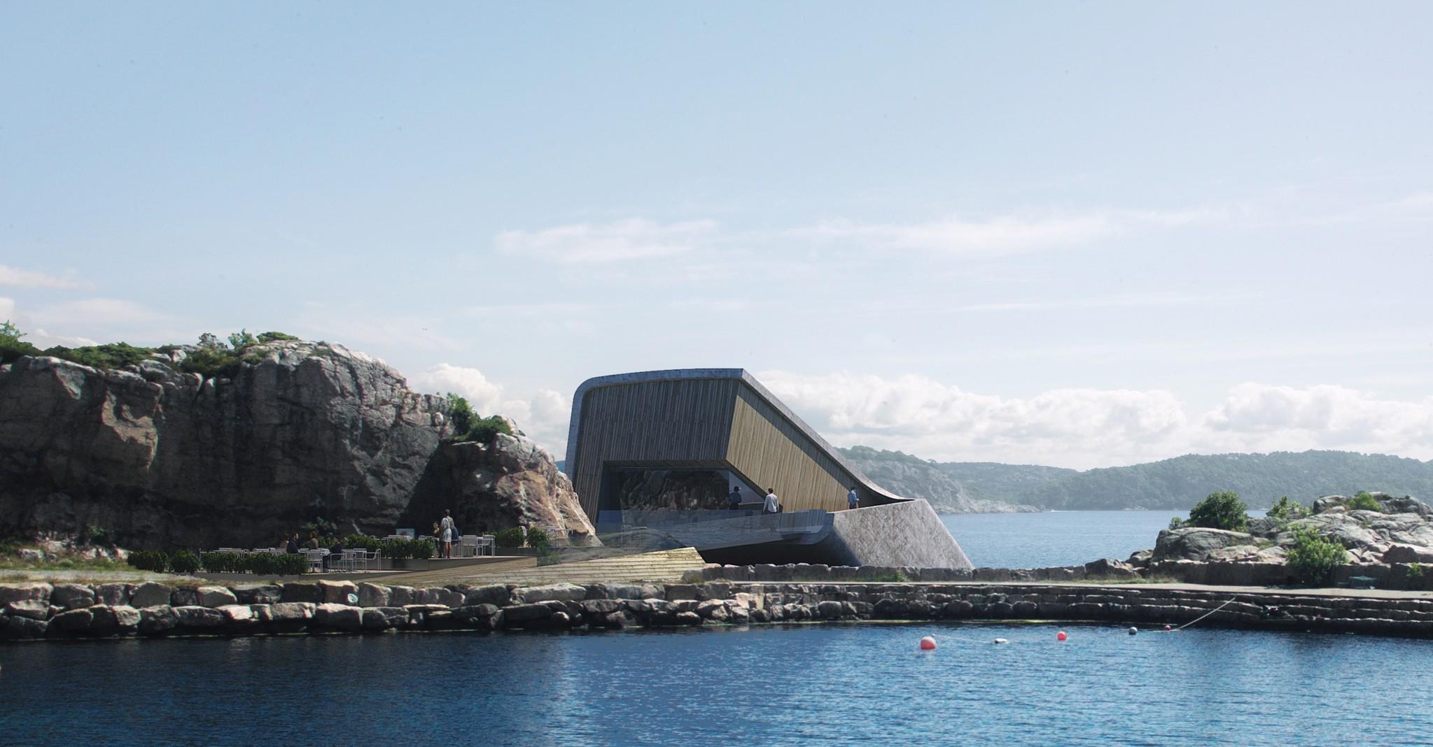 Snøhetta crean el primer restaurante submarino de Europa