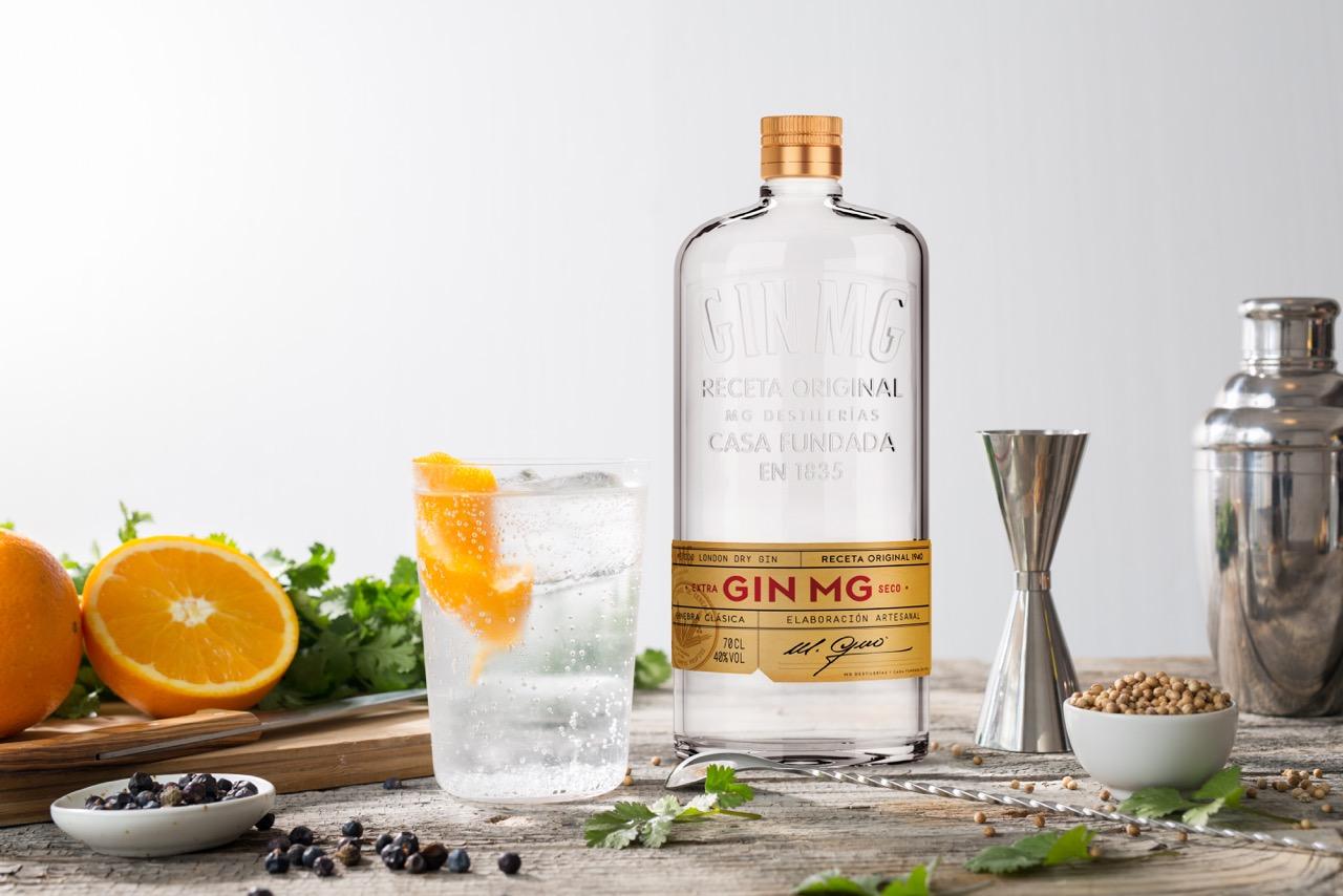 La ginebra Gin MG recupera su original receta de los años '40