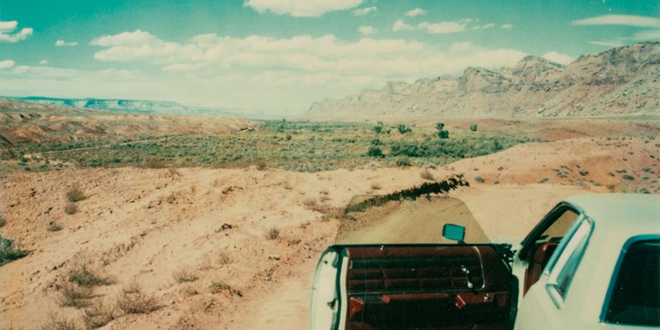 El universo de Wim Wenders a través de sus Polaroid