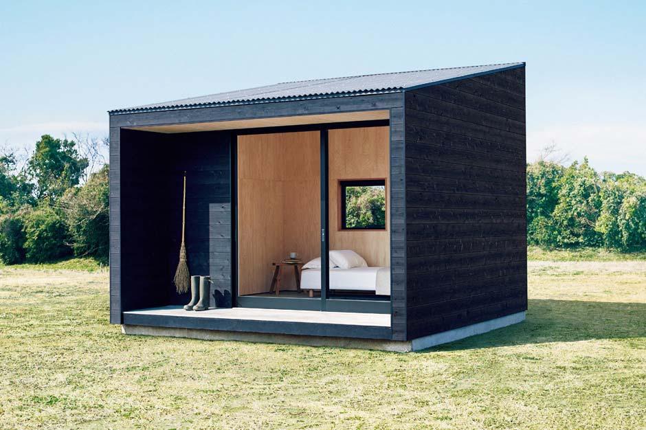 Muji Hut: un refugio para minimalistas