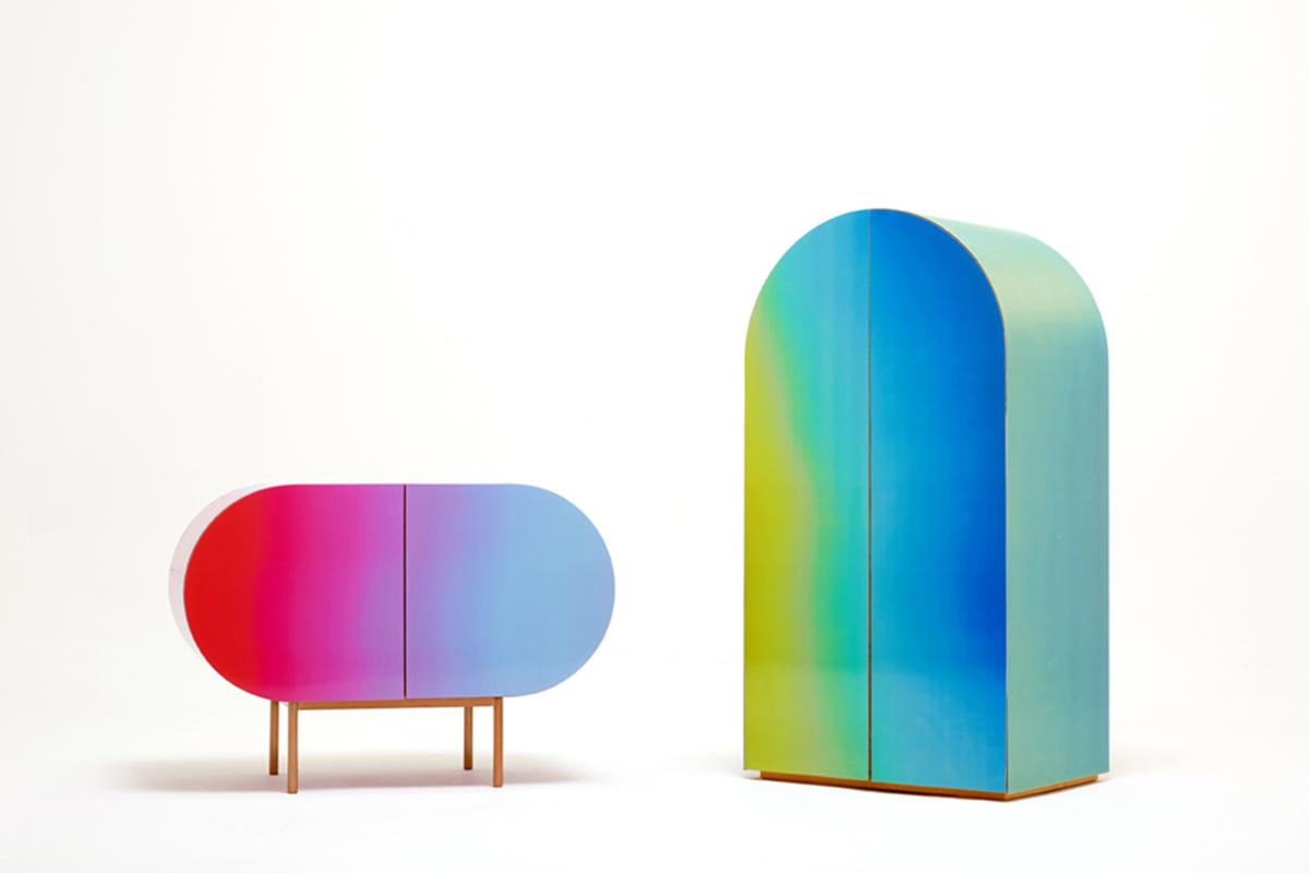 Color Flow: el mobiliario camaleónico de Orijeen