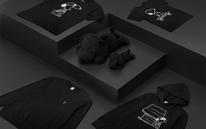 UNIQLO T-Shirts presenta la segunda colección de Snoopy con KAWS