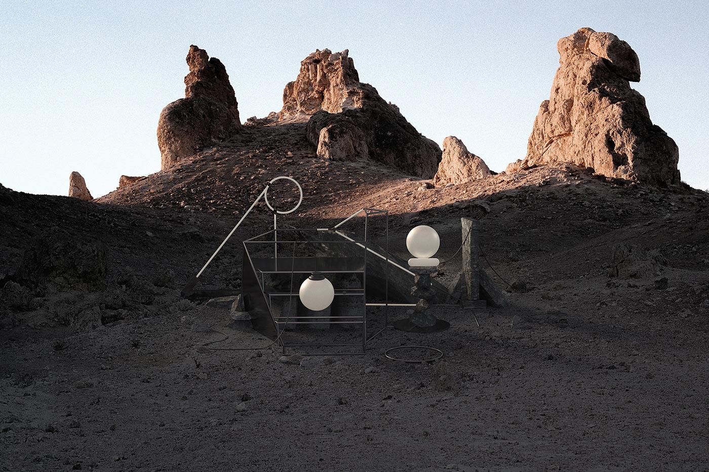 Co-Existe, monumentos digitales en plena naturaleza