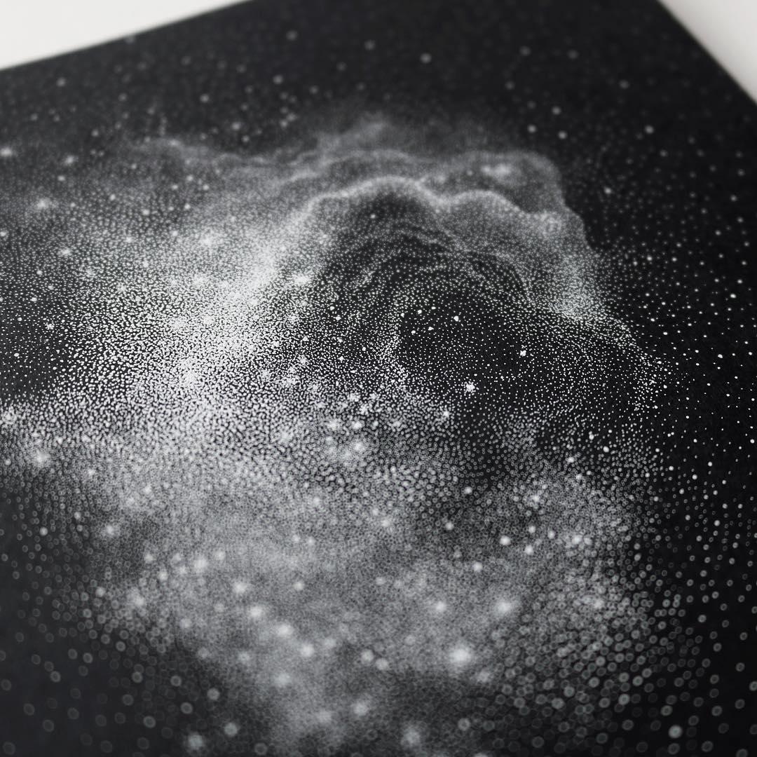 La galaxias ilustradas de Petra Kostova