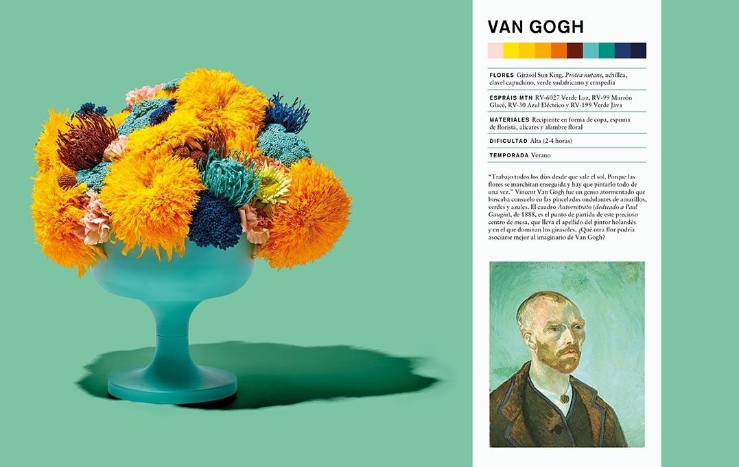 'Arte Floral. Un taller contemporáneo', el libro de Flowers by Bornay
