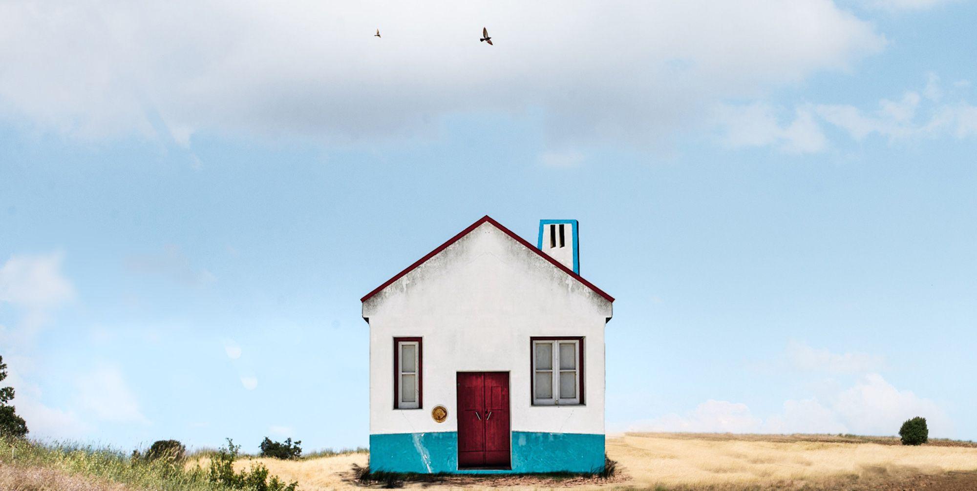 Las casas solitarias de Sejkko