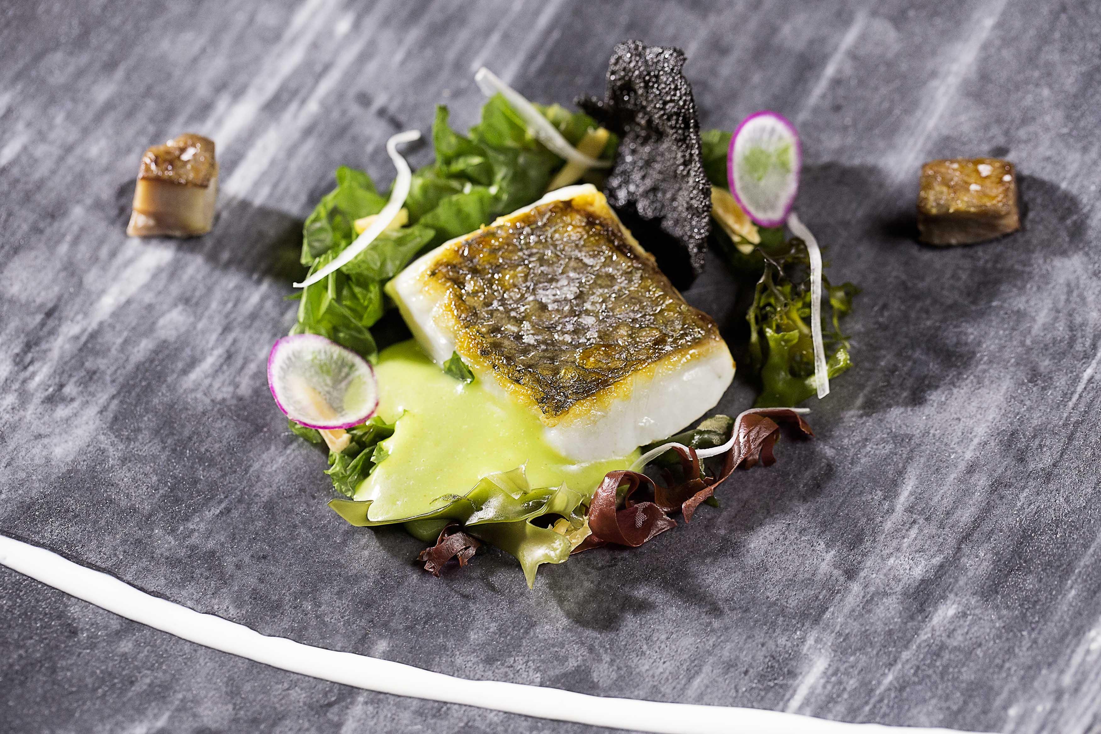 MH-Rte.-Oria-Corvina-con-jugo-de-wakame-meloso-y-ensalada-de-algas-y-frutos-secos