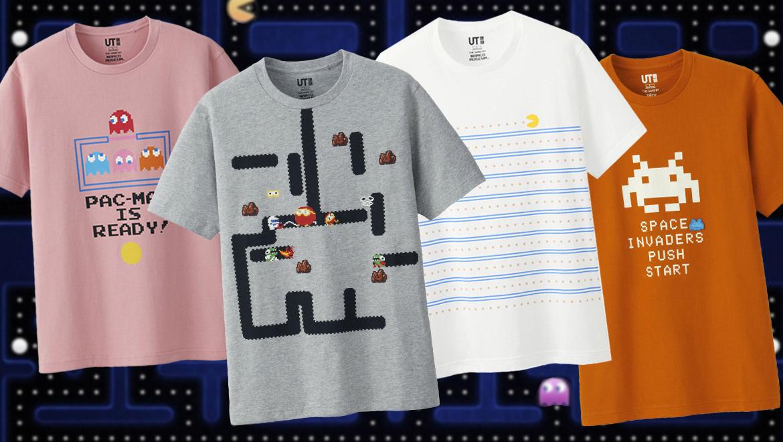 'The Game by Namco Museum', la colección de Uniqlo sobre los videojuegos clásicos