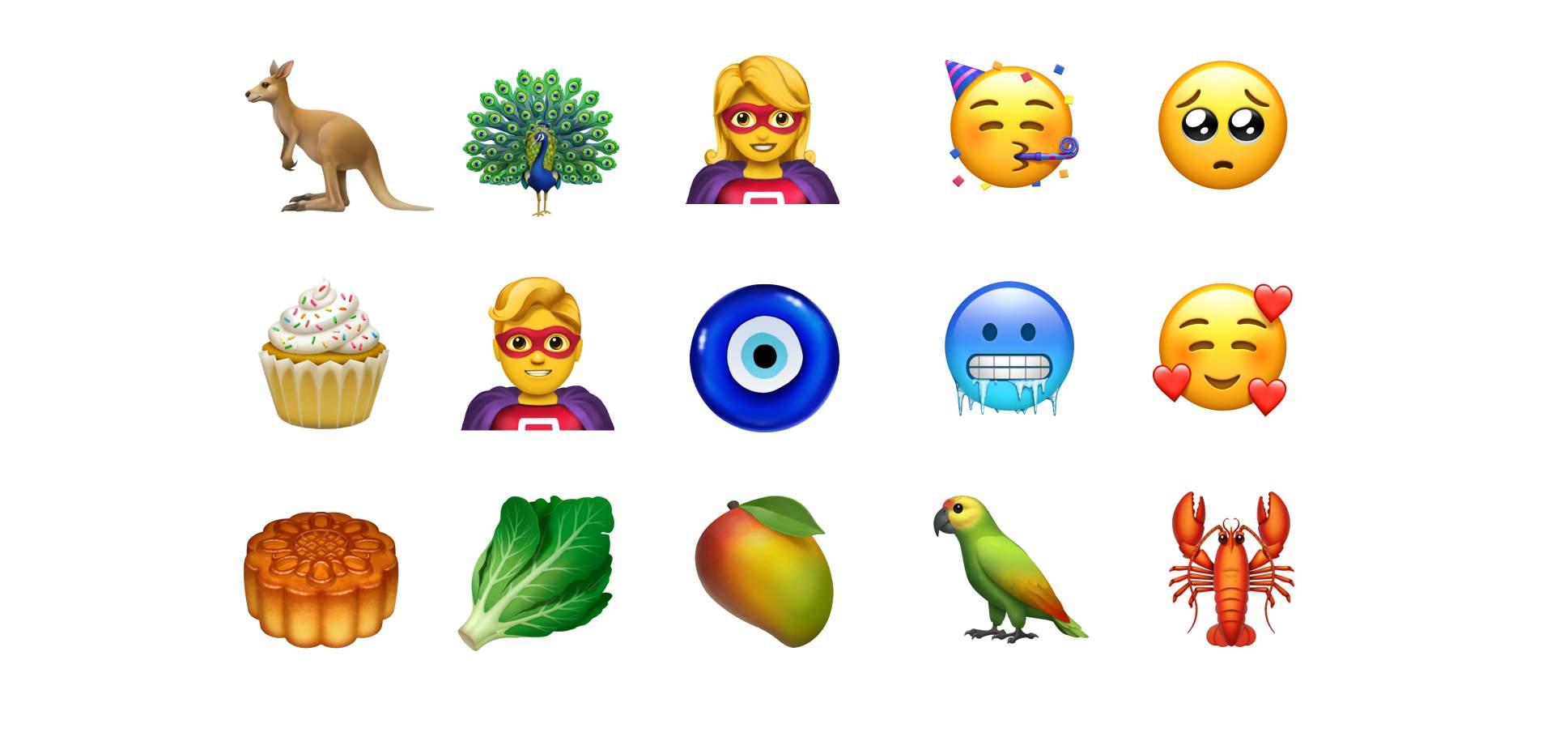 Apple añade 70 nuevos emoji a sus dispositivos