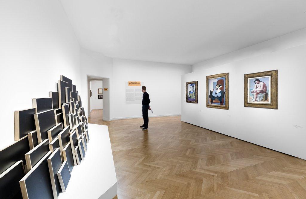 Picasso visto por detrás en el museo Berggruen de Berlín