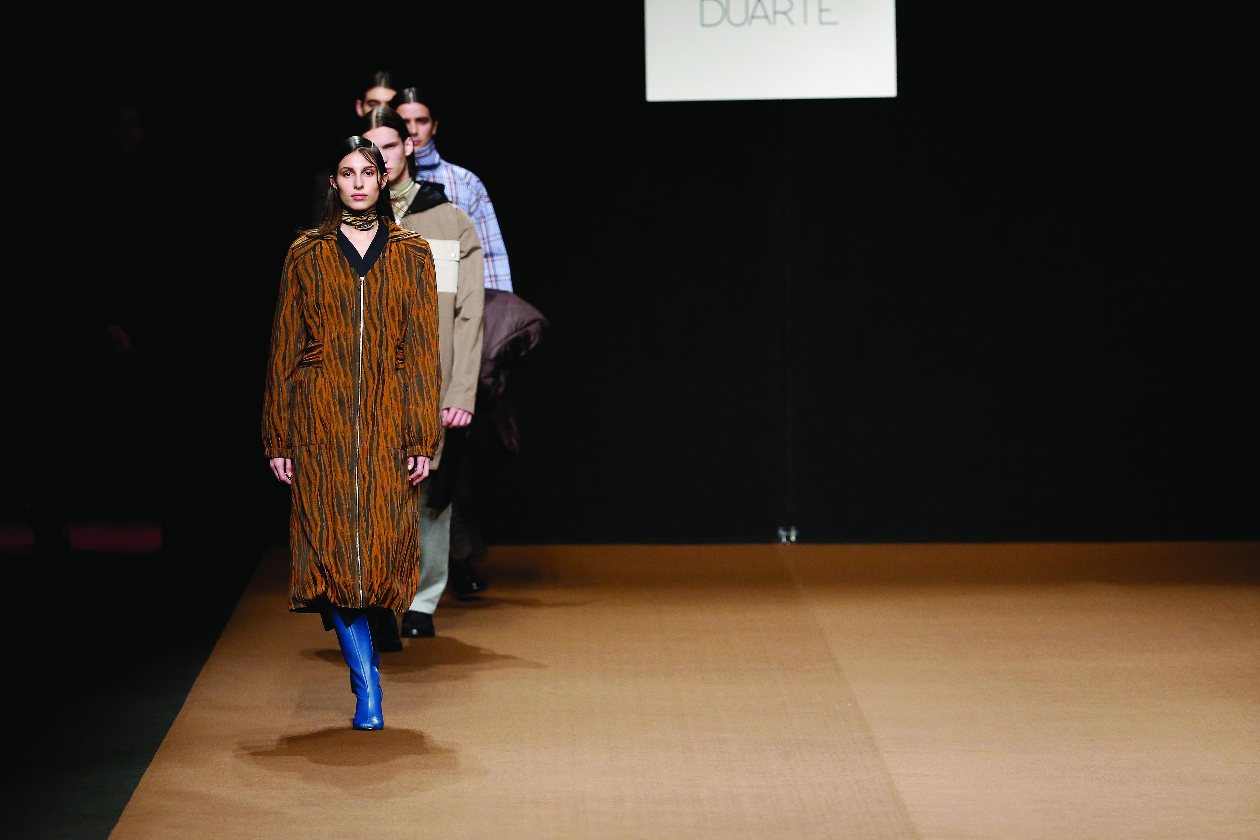 El universo redefinido de Duarte para la FW19-20 en la Mercedes Benz Fashion Week Madrid