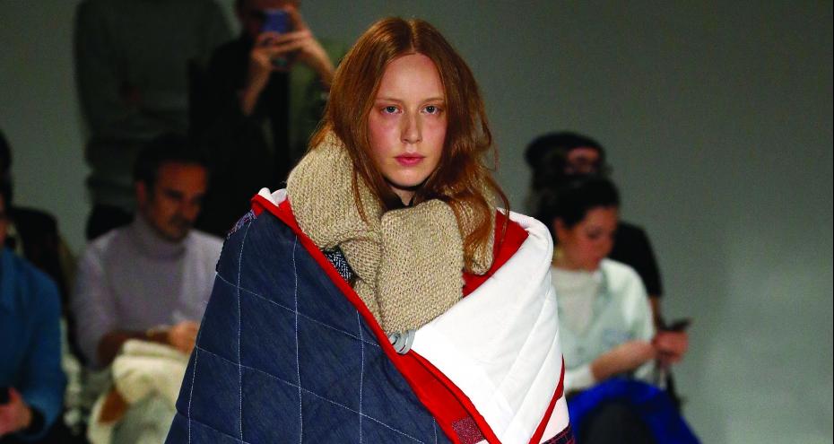 Olvidar el frío con Moisés Nieto en la FW19-20 de la Mercedes Benz Fashion Week Madrid