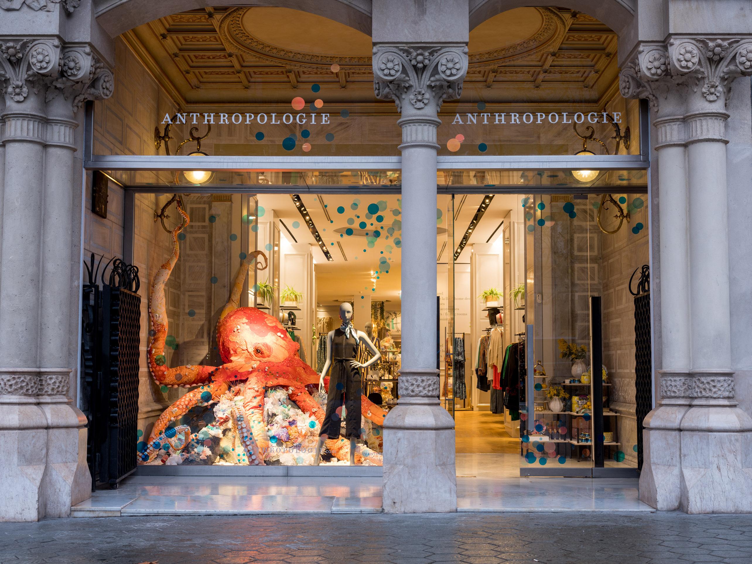 Anthropologie inaugura su primera sede en Barcelona por todo lo alto