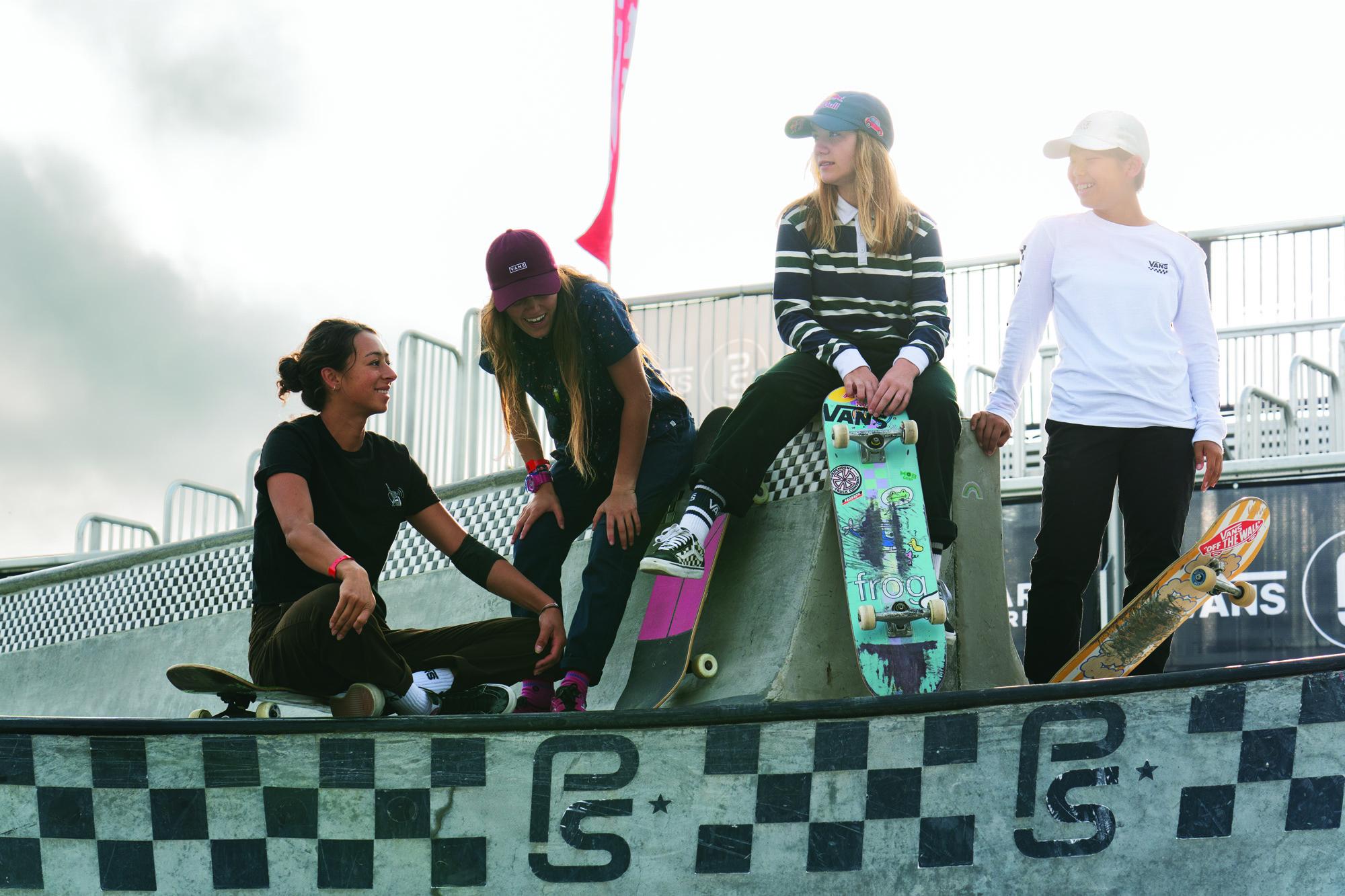 VANS GIRLS SKATE CAMP hace parada en Barcelona