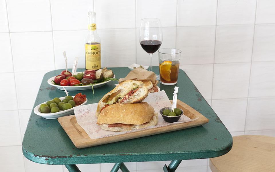 Santo Porcello, la paninoteca de Sant Antoni