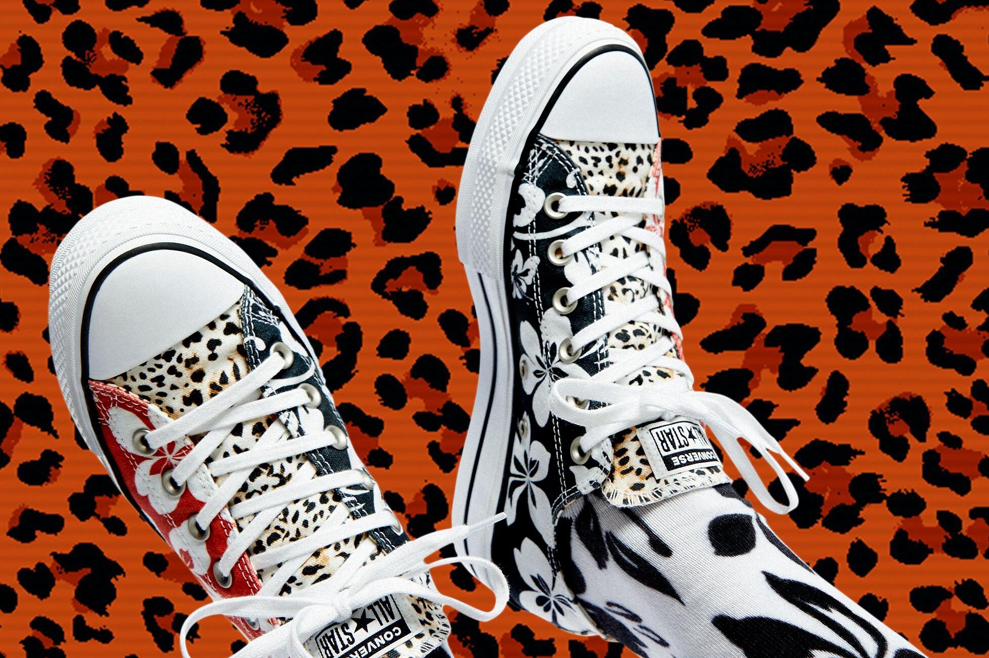 Converse exclusive for Bershka llevan las míticas zapatillas a un nuevo nivel