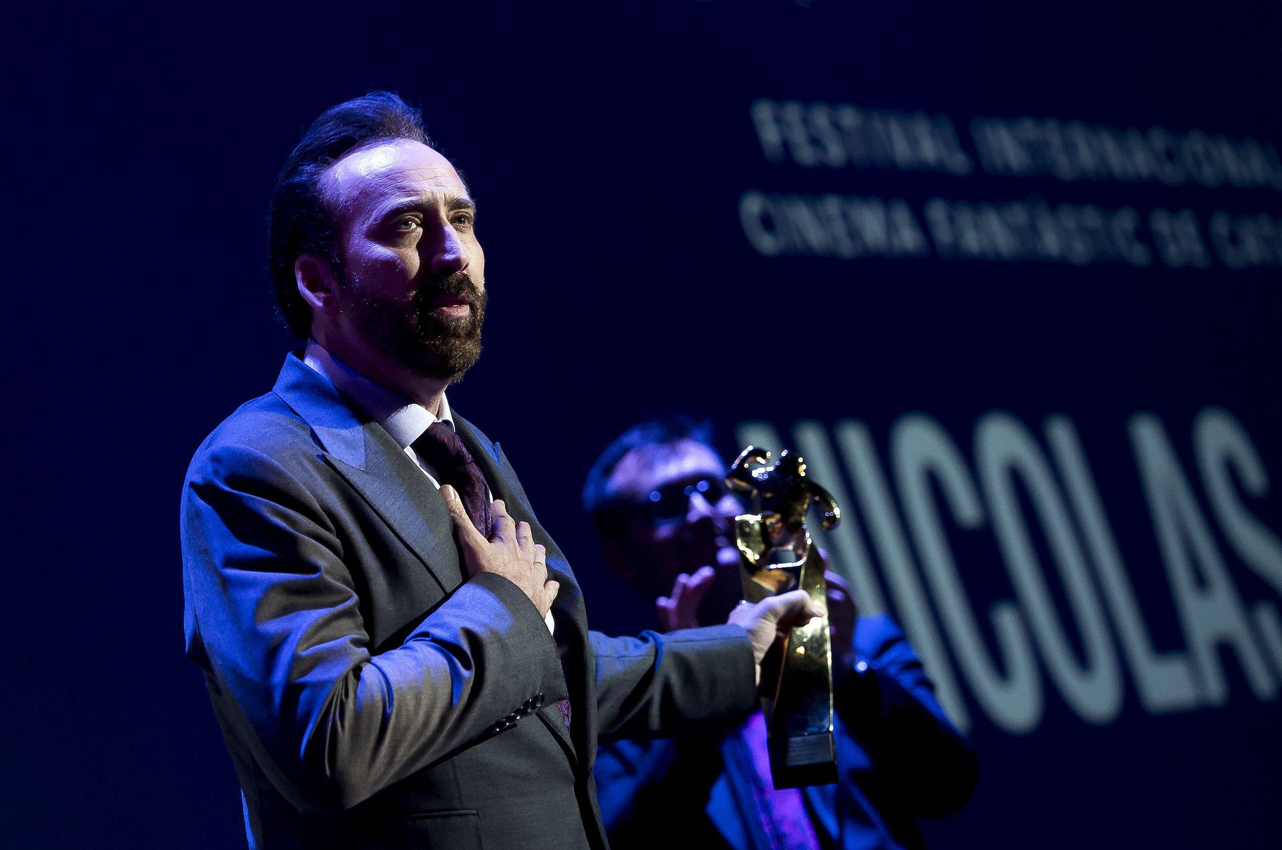 Nicolas Cage podría interpretarse a sí mismo en su próxima película