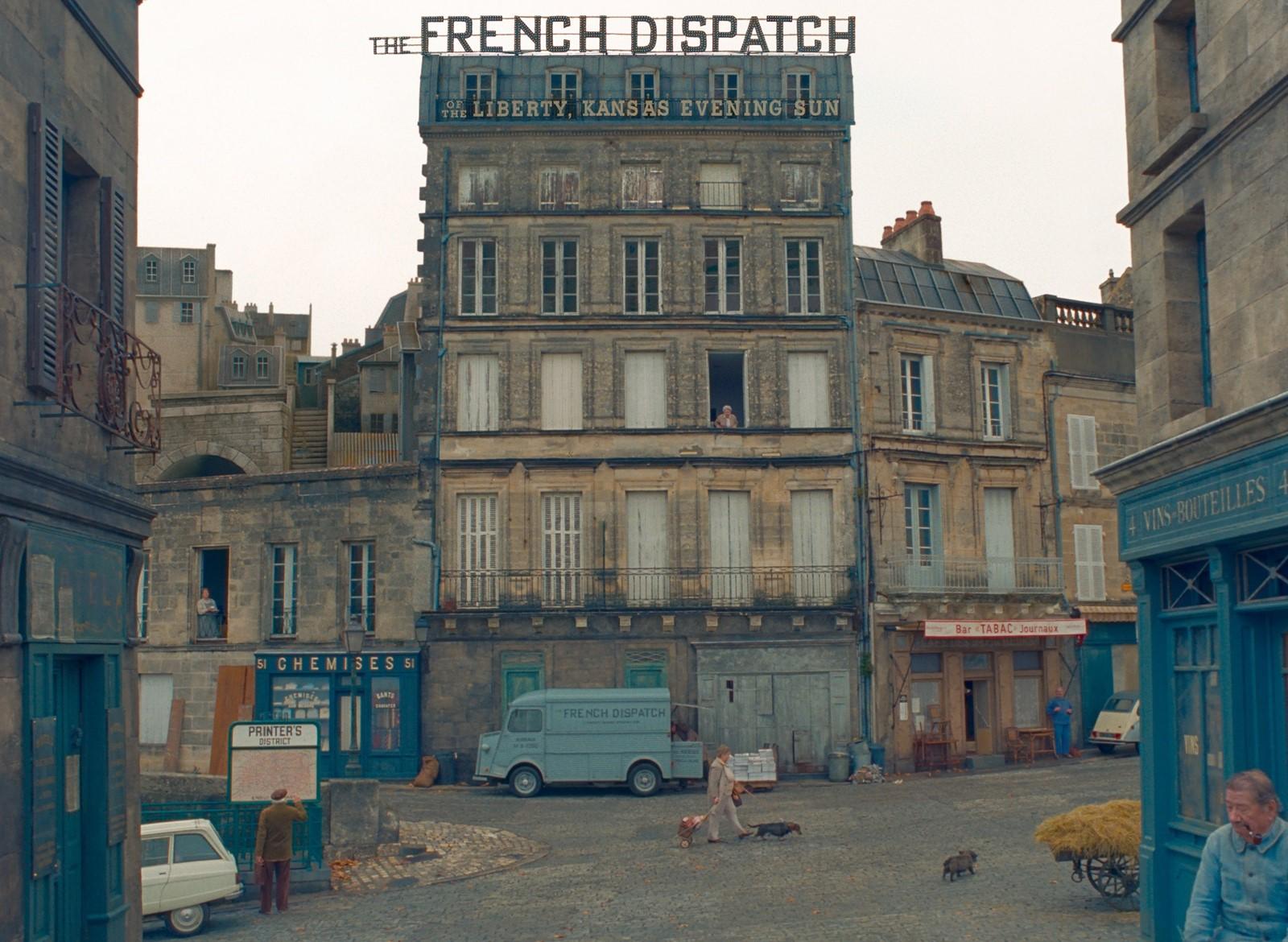 Ya puedes ver el tráiler de 'The French Dispatch', la nueva película de Wes Anderson inspirada en el New Yorker
