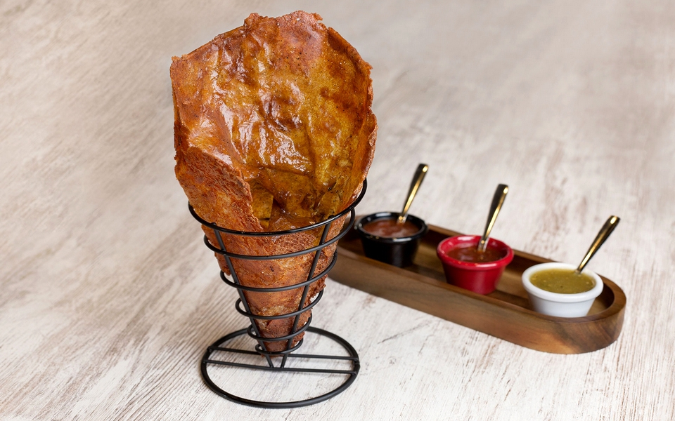 Tacos Don Manolito, locura mexicana enrollada en queso Oaxaca