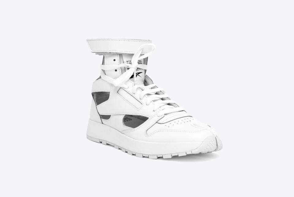 MM x Reebok Classic Leather Tabi High White